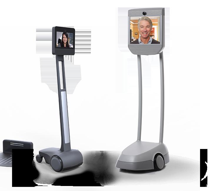 1er Robot de téléprésence